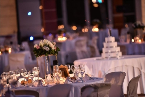 Korinthian Palace Wedding γάμος στολισμός